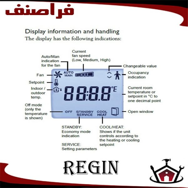 ترموستات دیجیتال RCF-230D-min